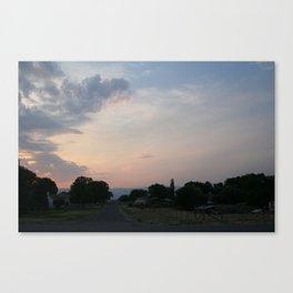 """UFO"" Sighting Canvas Print"