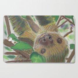 Suzie Sloth Cutting Board