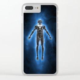 Disco god Clear iPhone Case
