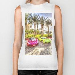Dubai Super Cars Art Biker Tank