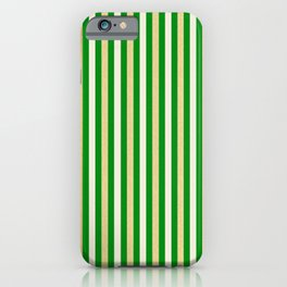 Green and Golden Vertical iPhone Case