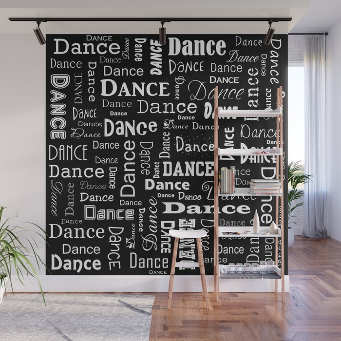 Just Dance Wall Mural By Lllcreations Society6