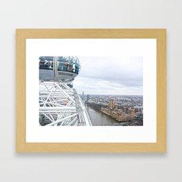 From the London eye Framed Art Print