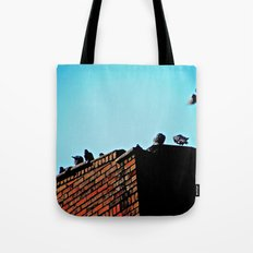 Looking for a Place to Land Tote Bag