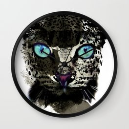 BLACK TIGER Wall Clock