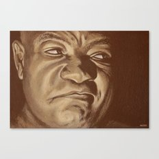 round 6...george foreman Canvas Print