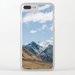 Southern Alps Clear iPhone Case