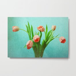 Delightful Display Metal Print
