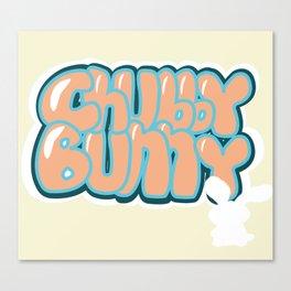 Chubby Bunny Main Title Canvas Print