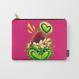 Green Humbug Carry-All Pouch