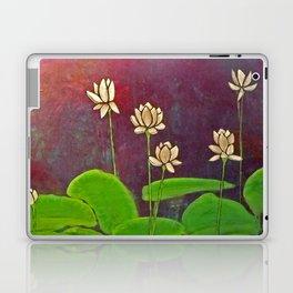 Lotus Crop from Golden Buddha Laptop & iPad Skin