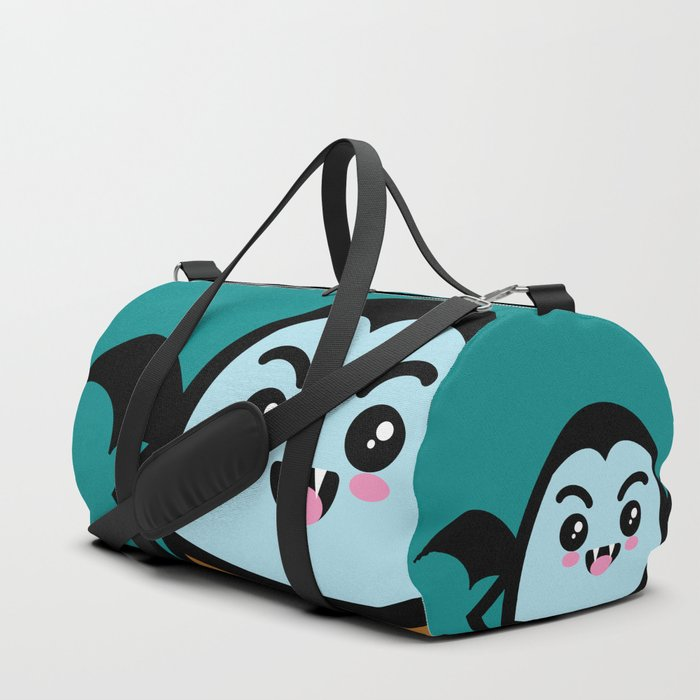 Creepy Egg Dracula - Halloween Duffle Bag