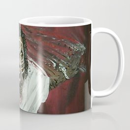 Tech N9ne Painting in Acrylics Coffee Mug