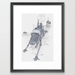 an even longer time ago Framed Art Print