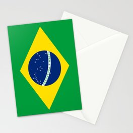 Flag of Brazil Stationery Cards