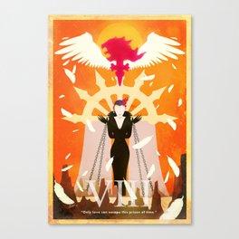 Vintage FF Poster VIII Canvas Print