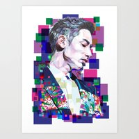 Lee Soo Hyuk Art Print