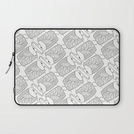 Elephant Pattern by dana alfonso Laptop Sleeve