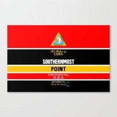Southern Most Point, Key West, Florida/サザン・モスト・ポイント Canvas Print