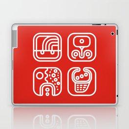 Mayan Glyphs ~ ABSTRACT Laptop & iPad Skin