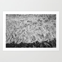 San Elijo Waves Art Print