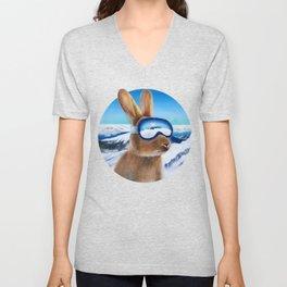 Ski Bunny Unisex V-Neck