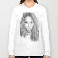 katniss Long Sleeve T-shirts featuring Katniss by S'ANNie