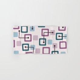 Vintage 1950s Tiles & Squares (Lavender) Hand & Bath Towel