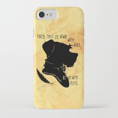 Those That Lie Down With Dogs, Get Up with Fleas iPhone 7 Slim Case