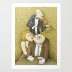 Slow Hand Serenade Art Print