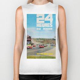 24hs Le Mans, 1965, vintage poster Biker Tank