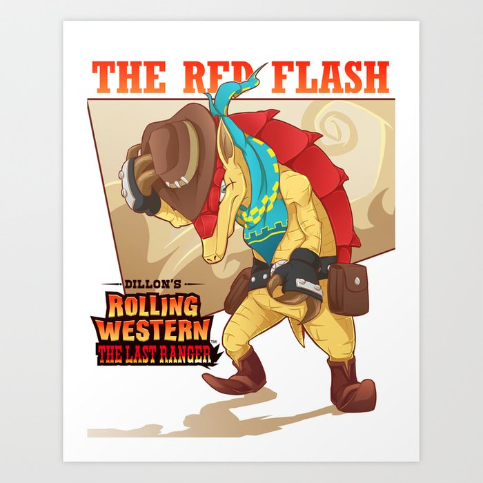Dillon's Rolling Western: The Last Ranger Art Print