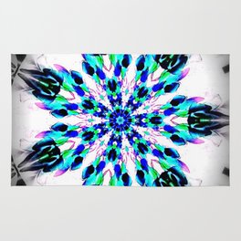 Frozen Snowflake Rug