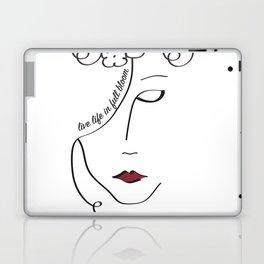 Live Life in Full Bloom Laptop & iPad Skin
