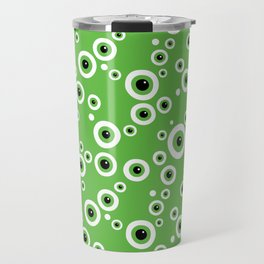 Still Watching. Green Eyes Travel Mug