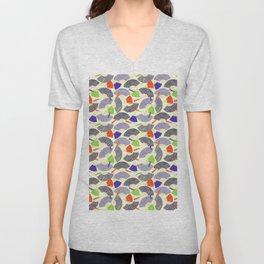 oriental pattern Unisex V-Neck