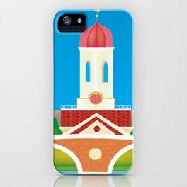 Cambridge, Massachusetts - Skyline Illustration by Loose Petals iPhone Case