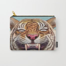 Smiling Tiger Carry-All Pouch