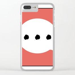 ... C Clear iPhone Case
