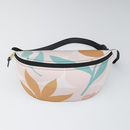 Abstraction_Floral_Minimalism_Beautiful_Day Fanny Pack
