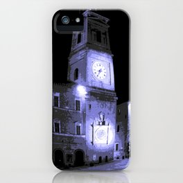 TORRE CIVICA MACERATA iPhone Case
