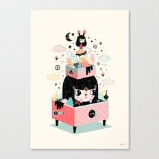 The sound of magic Canvas Print