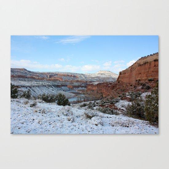 First Snow II Canvas Print