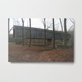 Schofield-Ford Covered Bridge Metal Print