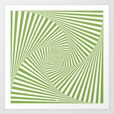 Green Twista Art Print