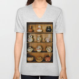 Indian Cupboard - Graphic 1 Unisex V-Neck
