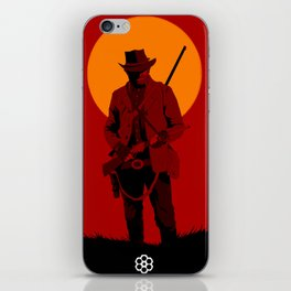 Red Dead iPhone Skin