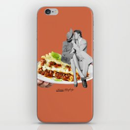 there are precious moments between layers iPhone Skin
