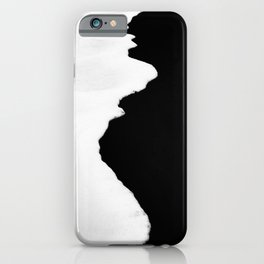 down the beach  iPhone Case