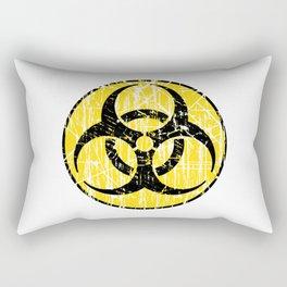 Biohazard Rectangular Pillow